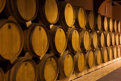 Wall mural Armenia, cognac barrels