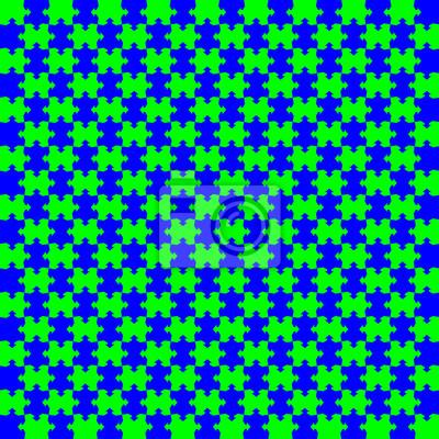 arrows puzzle blue green