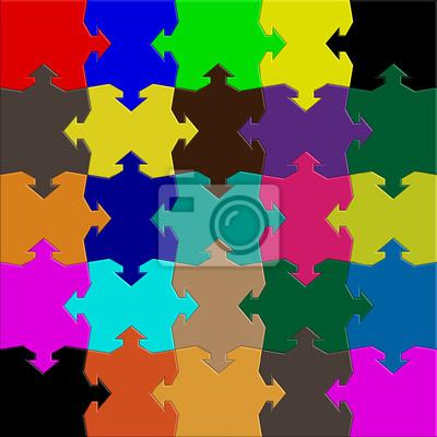 arrows puzzle mix