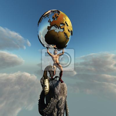 Atlas Greek God