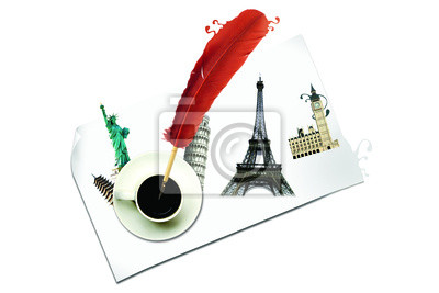 Wall mural Attractions