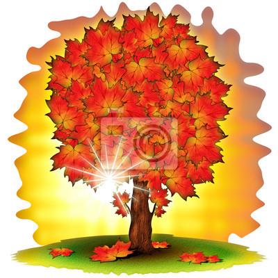 Autunno Albero Autumn - Tree- Tree In Autumn