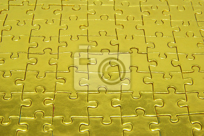 background gold  puzzle