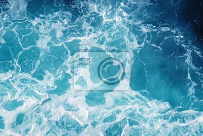 Background of aqua sea water