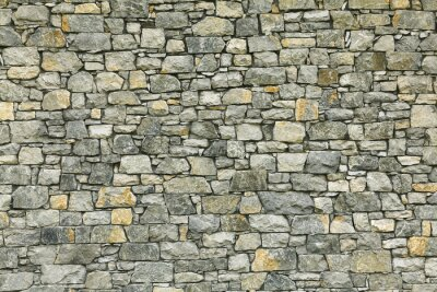 Wall mural Background of stone wall texture