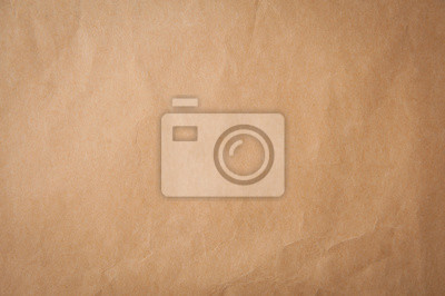 Wall mural Background texture of pld craft brown paper