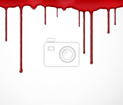 Wall mural Background with blood
