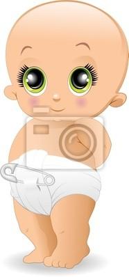 Bambino Cartoon-Baby Cartoon-Vector