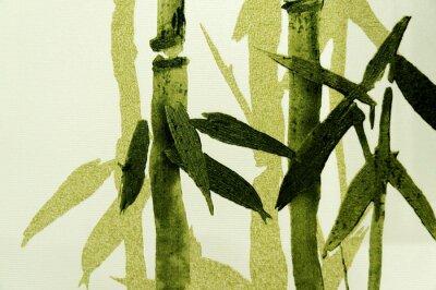 Wall mural Bamboo / Texture