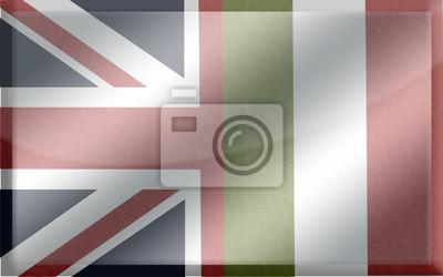 Bandiera Inglese Italiana