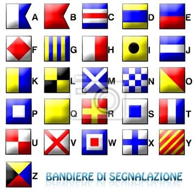 Bandiere di segnalazione