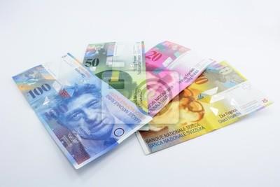 banknotes Switzerland