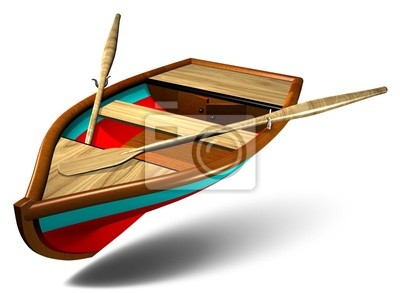 Barca a Remi-Rowboat-Pinnace-Chaloupe