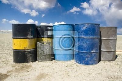 Wall mural barrels 01
