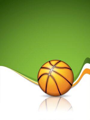 Wall mural Basketball