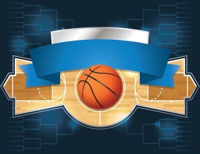 Wall mural Basketball Tournament