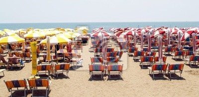 beach Caorle on the Adriatic...