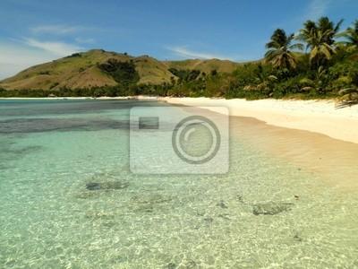 Beach in Fiji Island