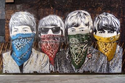 Wall mural Beatles