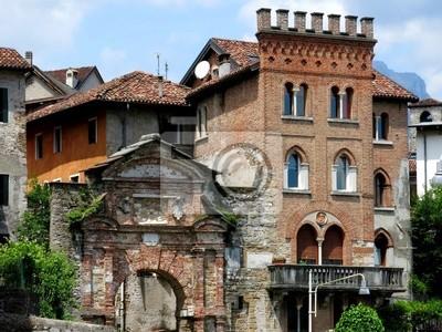 Beautiful Castle Belluno Italy