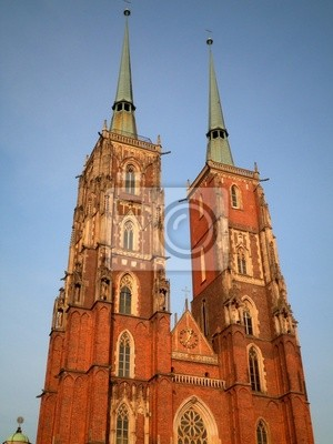 Beautiful Cathedral in Wroclaw