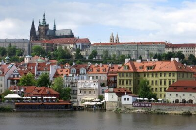 Beautiful Prague Castle Attraction