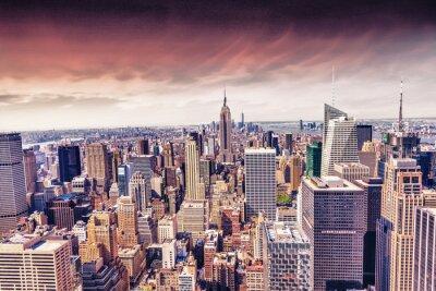 Wall mural Beautiful view of  New York City skyline