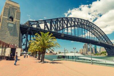 Wall mural Beautiful view of Sydney Harbour Bridge