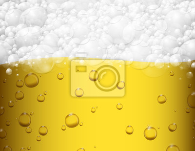 Wall mural Beer background