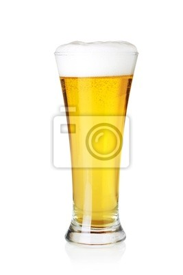 Beer collection - Lager beer in glass