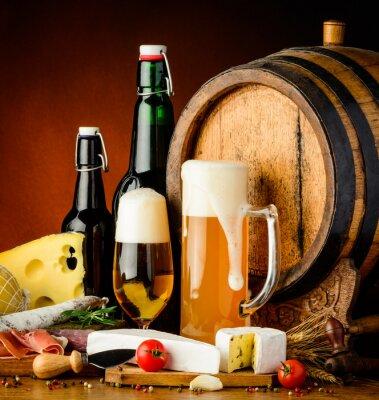 Wall mural beer drinks