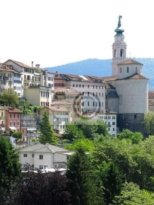 Belluno Church Town Italy