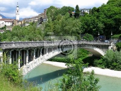 Belluno Unusual Bridge Italy