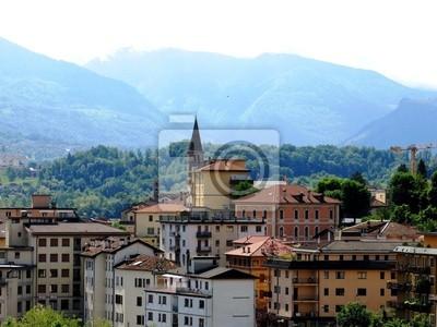 Belluno Village Mountains Italy