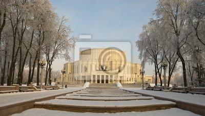 Belorussian Opera and Ballet Theatre in Minsk