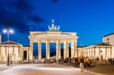 Wall mural Berlin - AUGUST 4, 2013: Brandenburg Gate on August 4 in Germany