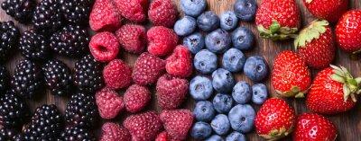 Wall mural Berries