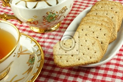 Wall mural biscuit