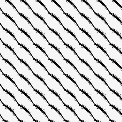 black and white seamless quality pattern