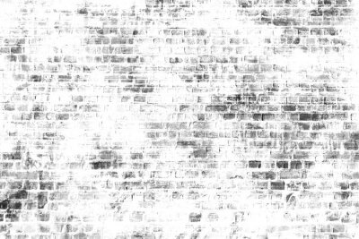 Wall mural Black and white wall painting art, inspirational background image.