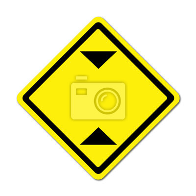 blank height limitation traffic sign