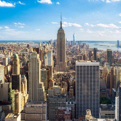 Wall mural Blick auf Manhatten in New York City, USA