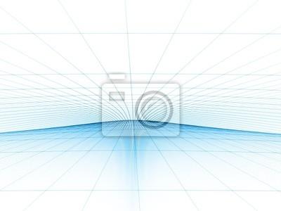 Blue Grid Template