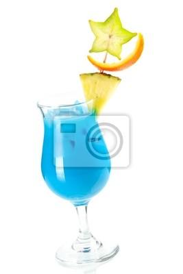 Blue Hawaii tropical cocktail