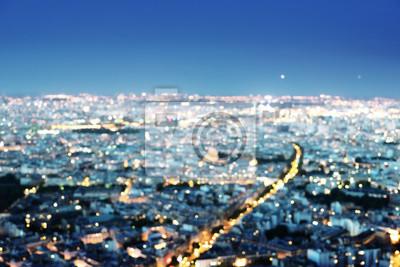 bokeh in Paris, France,