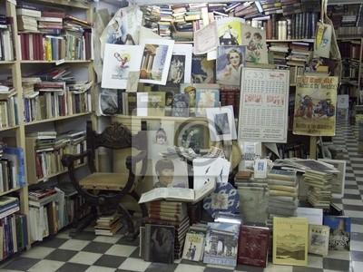 Wall mural books
