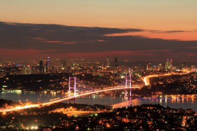 Wall mural Bosphorus Bridge