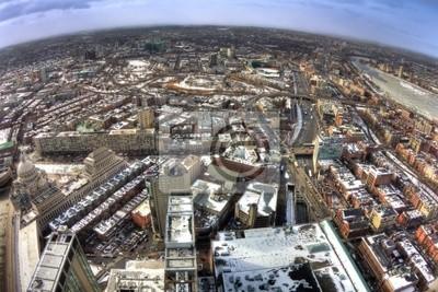 Boston in Massachusetts in the Winter Season