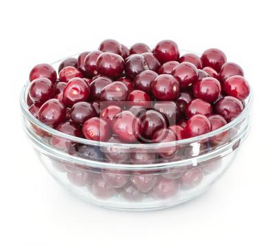 Wall mural bowl of cherries