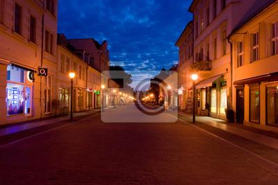 Brandenburger Strasse am Abend in Potsdam